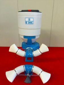 Impolveratore MB Bergonzi G300P Testata vigneti a tendone e ortaggi